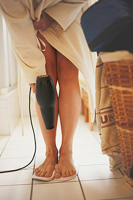Hair dryer - p1167m1091694 by Maria Schiffer