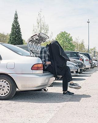 Parkplatz - p1425m1487045 von JAKOB SCHNETZ