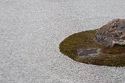 Stone Garden - p445m911841 by Marie Docher