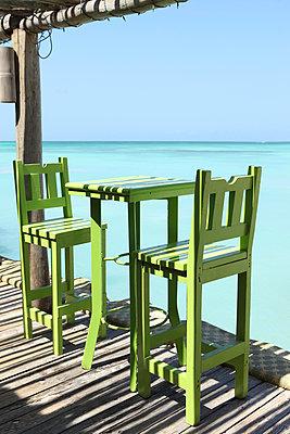 Beach bar - p045m892367 by Jasmin Sander