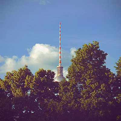 Berlin Television Tower - p1072m941446 by Neville Mountford-Hoare