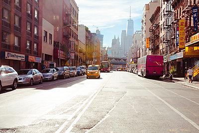 Chinatown New York - p432m1181441 von mia takahara
