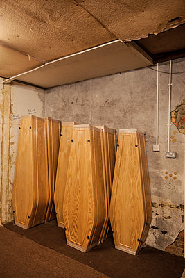 Funeral parlour room - p686m931216 by Paul Tait