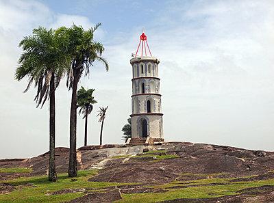 Dreyfus Tower in Kourou - p338m1355494 by Marion Beckhäuser