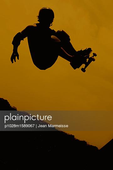 Skateboarder - p1028m1589067 von Jean Marmeisse