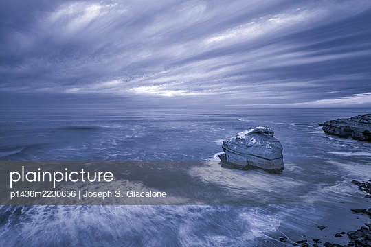 Stormy winter morning - p1436m2230656 by Joseph S. Giacalone