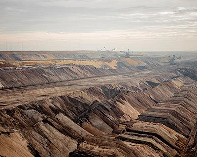 Blick auf den Tagebau Garzweiler - p1319m1149945 von Christian A. Werner