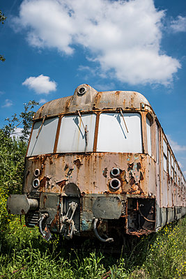 Rundown train - p229m2092546 by Martin Langer
