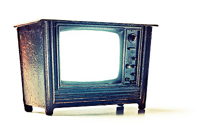 Vintage television - p3940237 by Stephen Webster