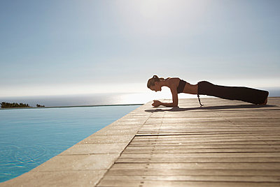 Yoga - p6691569 by Jutta Klee photography