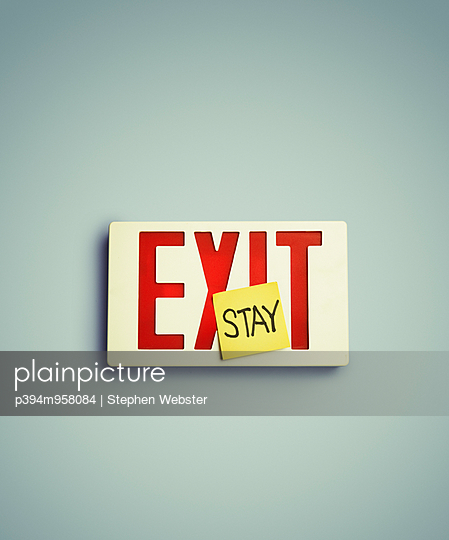 Exit - p394m958084 by Stephen Webster