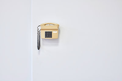 Vintage key-operated telephone - p706m2172125 by Markus Tollhopf
