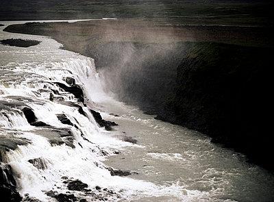 Wasserfall Island - p4510471 von Anja Weber-Decker