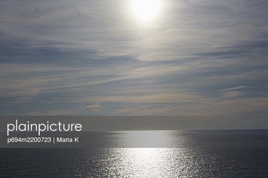 View of Ocean from Aquinnah Beach, Martha's Vineyard, Massachusetts, USA  - p694m2200723 by Maria K