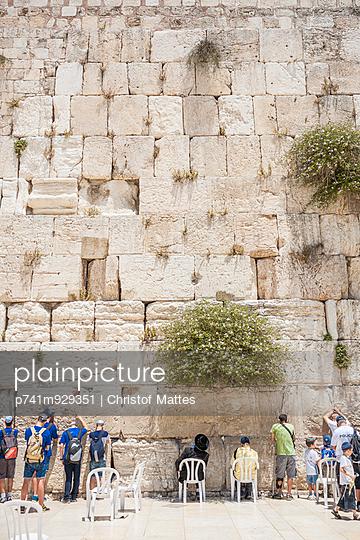 Klagemauer - p741m929351 von Christof Mattes