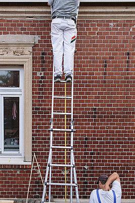 Auf der Leiter - p1085m876991 von David Carreno Hansen
