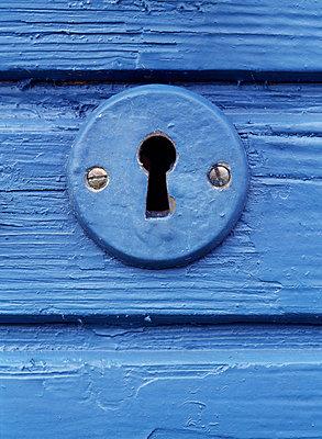 Key Hole At Door, Closeup - p8471131 by Bengt Olof Olsson