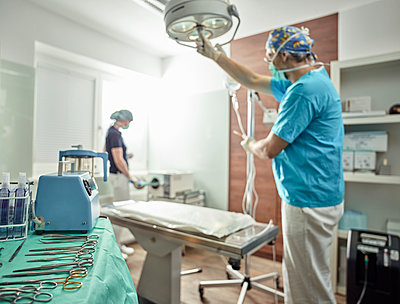 Veterinary practice, preparation of an operation - p300m1567829 by Christian Vorhofer