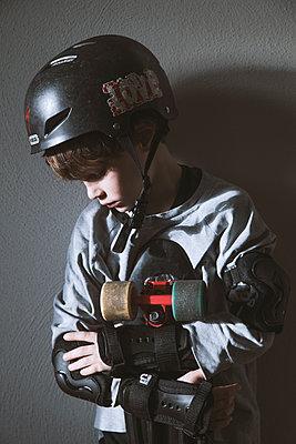 Skateboarder - p1338m1525575 von Birgit Kaulfuss