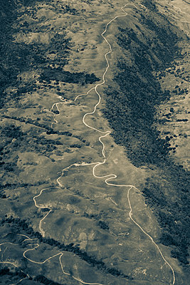 Rocky Mountains, USA, aerial view - p758m2181765 by L. Ajtay