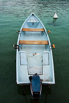 Motorboat on the Lake d'Annecy - p813m1119125 by B.Jaubert