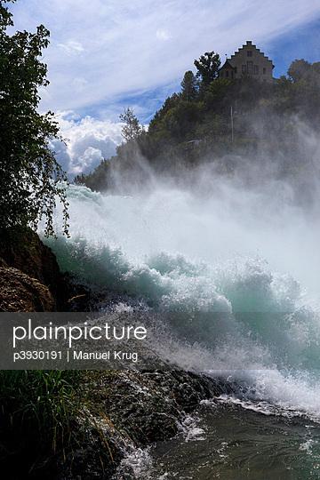 Rhine Falls in Europe - p3930191 by Manuel Krug