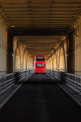 Riding the bus - p1280m1149873 by Dave Wall