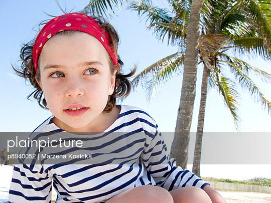 Kind am Strand - p8940052 von Marzena Kosicka