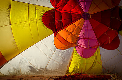 The Albuquerque International Balloon Fiesta draws spectators from around the world.  - p343m958147 by Jeremy Wade Shockley