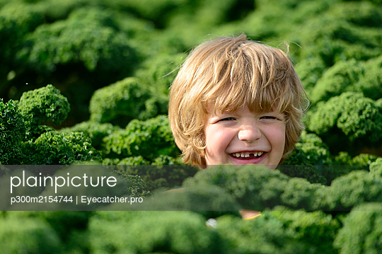 Boy in a kali field - p300m2154744 by Eyecatcher.pro