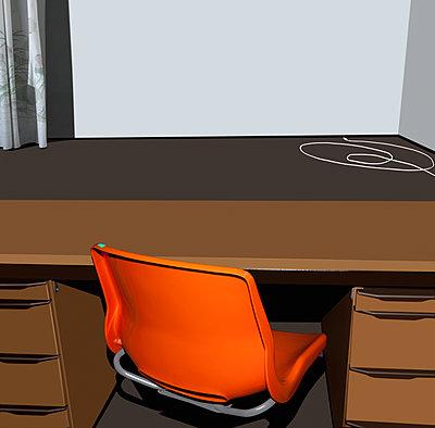Altmodischer Arbeitsplatz - p230m2152641 von Peter Franck