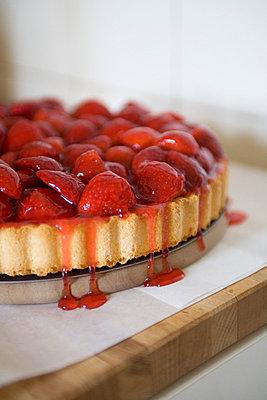 Strawberry cake - p4470391 by Anja Lubitz