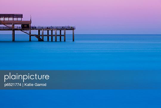 Deal pier, in the coastal resort of Deal - p6521774 by Katie Garrod