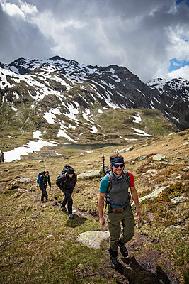 Hiking In The Alps - p1272m2196878 by Steffen Scheyhing