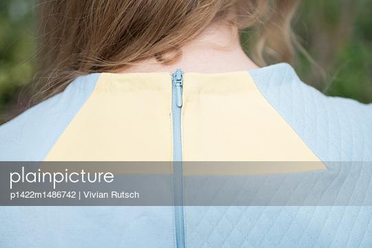 Nacken einer Frau  - p1422m1486742 von Vivian Rutsch