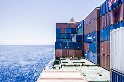 Container ship - p1157m1041462 by Klaus Nather