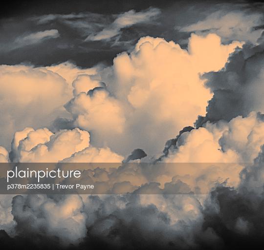 Cloudy sky - p378m2235835 by Trevor Payne