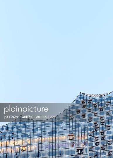 Elbphilharmonie Anschnitt - p1124m1149971 von Willing-Holtz