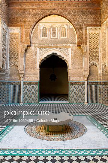 Al-Attarine Madrasa in Fès, Morocco - p1216m1032455 by Céleste Manet