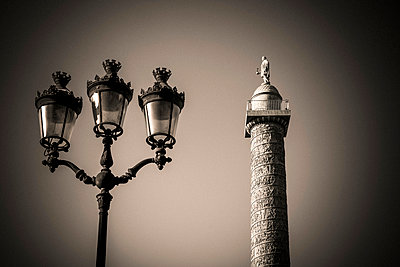 Vendome column, Paris - p813m1214764 by B.Jaubert