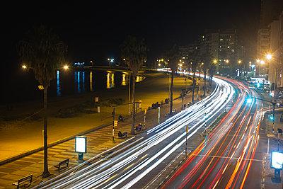View of traffic trail - p623m2186265 by Pablo Camacho
