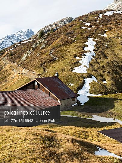 Alpine hut - p1177m1516842 by Philip Frowein