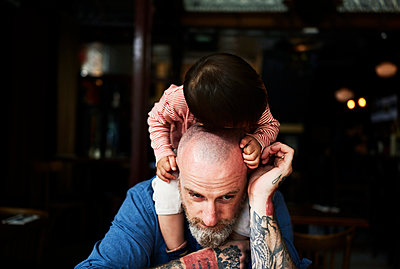 Father and son - p584m953715 by ballyscanlon