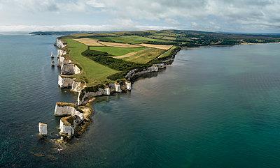 Old Harry Rocks, Studland, Dorset, England, UK - p651m2085026 by Carlo Conti