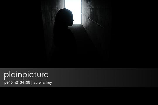 Child in the cellar - p945m2134138 by aurelia frey