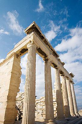 Akropolis, Athen - p3226441 von Simo Vunneli