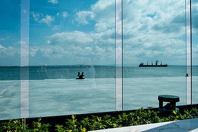 Blick aufs Meer - p1146m1193337 von Stephanie Uhlenbrock