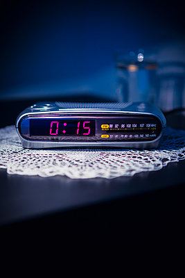 Clock radio - p1149m2197045 by Yvonne Röder