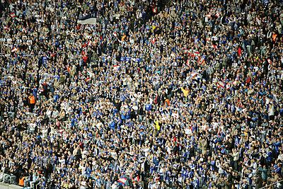 Masse von Fußballfans - p2280263 von photocake.de