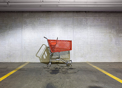 Shopping cart - p3722402 by James Godman